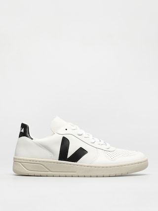 Veja V-10 Shoes (leather extra white black)