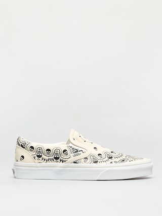 Vans Classic Slip On Shoes (bandana classic white/black)
