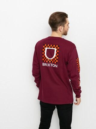 Brixton Beta Checkers Stt Longsleeve (cowhide)