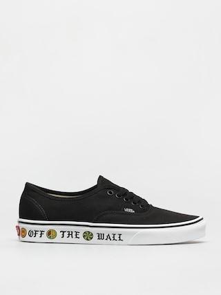 Vans Authentic Shoes (sidewall otw/black)
