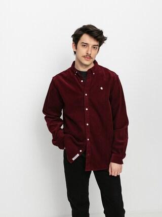Carhartt WIP Madison Cord Shirt (bordeaux)