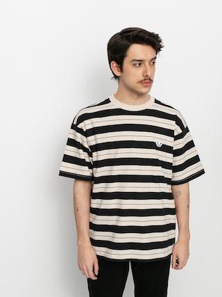 adidas Yarn Dye T-shirt (black/halivo/greoxi)