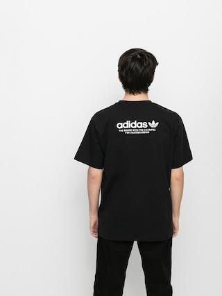 adidas 4 0 Logo T-shirt (black/white)