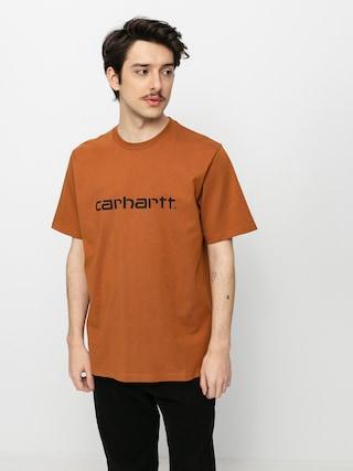 Carhartt WIP Script T-shirt (rum/black)