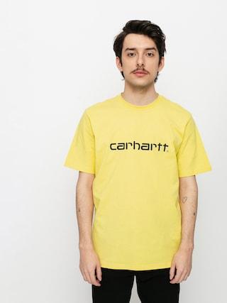 Carhartt WIP Script T-shirt (limoncello/black)