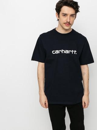 Carhartt WIP Script T-shirt (dark navy/white)