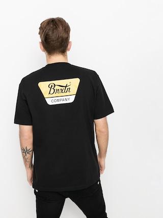 Brixton Linwood Stt T-shirt (black/yellow)