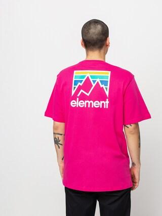 Element Joint T-shirt (fushia red)