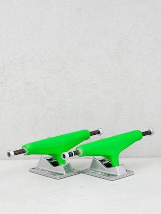 Tensor Alum Mirror Trucks (safety green/raw)