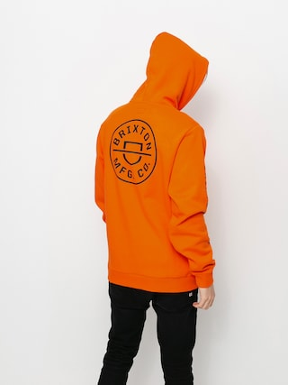 Brixton Crest HD Hoodie (carrot)