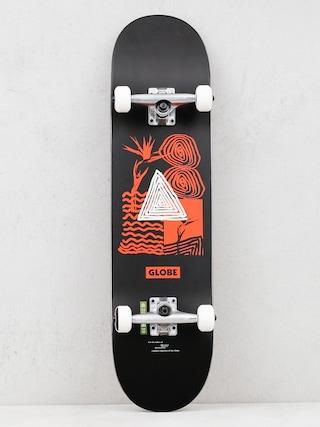Globe G1 Fairweather Skateboard (black/red)