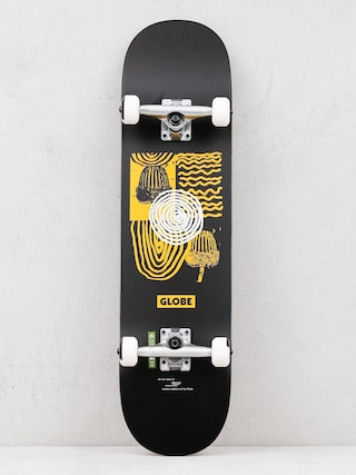 Globe G1 Fairweather Skateboard (black/yellow)