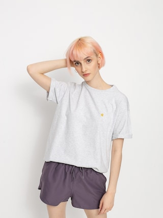 Carhartt WIP Chase T-shirt Wmn (ash heather/gold)