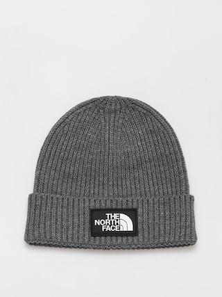 The North Face TNF Logo Box Beanie (tnf medium grey heather)