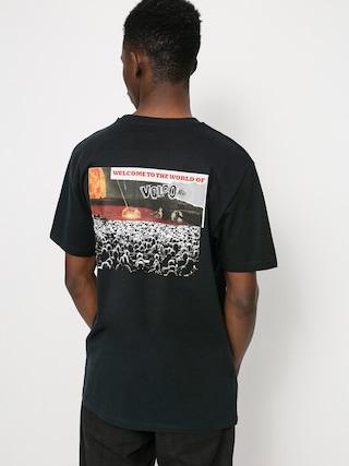 Volcom Worlds Collide T-shirt (black)
