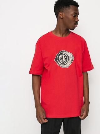 Volcom Sick 180 T-shirt (carmine red)
