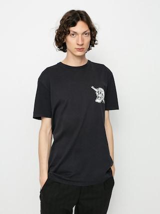 Quiksilver Summer Skull T-shirt (black)