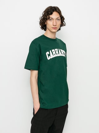 Carhartt WIP University T-shirt (treehouse/white)