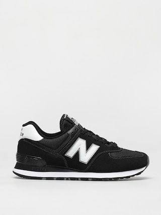New Balance 574 Shoes (black/white)