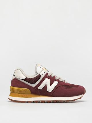 New Balance 574 Shoes Wmn (red/yellow)