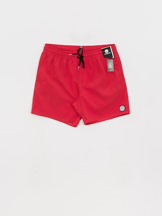 Volcom Lido Solid Trunk 16 Boardshorts (carmine red)