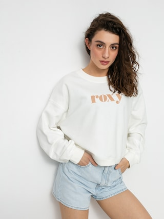 Roxy Break Away Crew Sweatshirt Wmn (snow white)