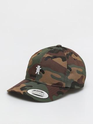 Grizzly Griptape OG Bear ZD Cap (camo/white)