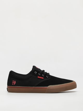 Etnies Jameson Vulc Shoes (black/red/gum)