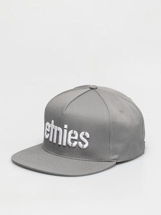 Etnies Corp Snapback ZD Cap (grey/white)