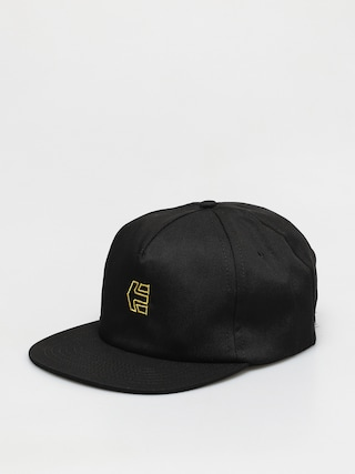 Etnies Icon Strapback ZD Cap (black/yellow)