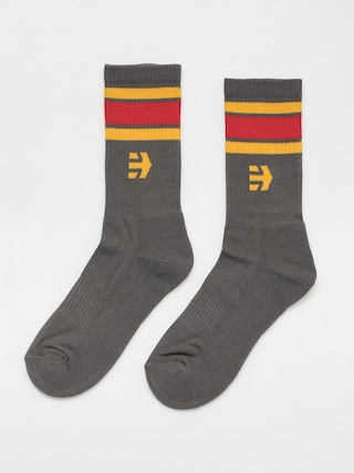 Etnies Rebound Socks (grey/yellow)