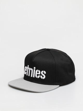 Etnies Corp Snapback ZD Cap (black/grey)