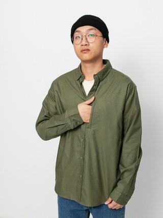 Globe Foundation Ls Shirt (olive)