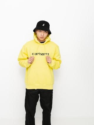 Carhartt WIP Sweat HD Hoodie (limoncello/black)