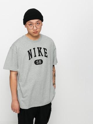 Nike SB Collegiate T-shirt (dk grey heather/black)