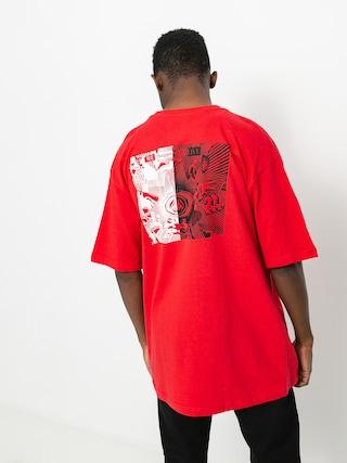 Volcom Clatter T-shirt (carmine red)