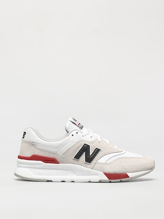 New Balance 997 Shoes (white/red)
