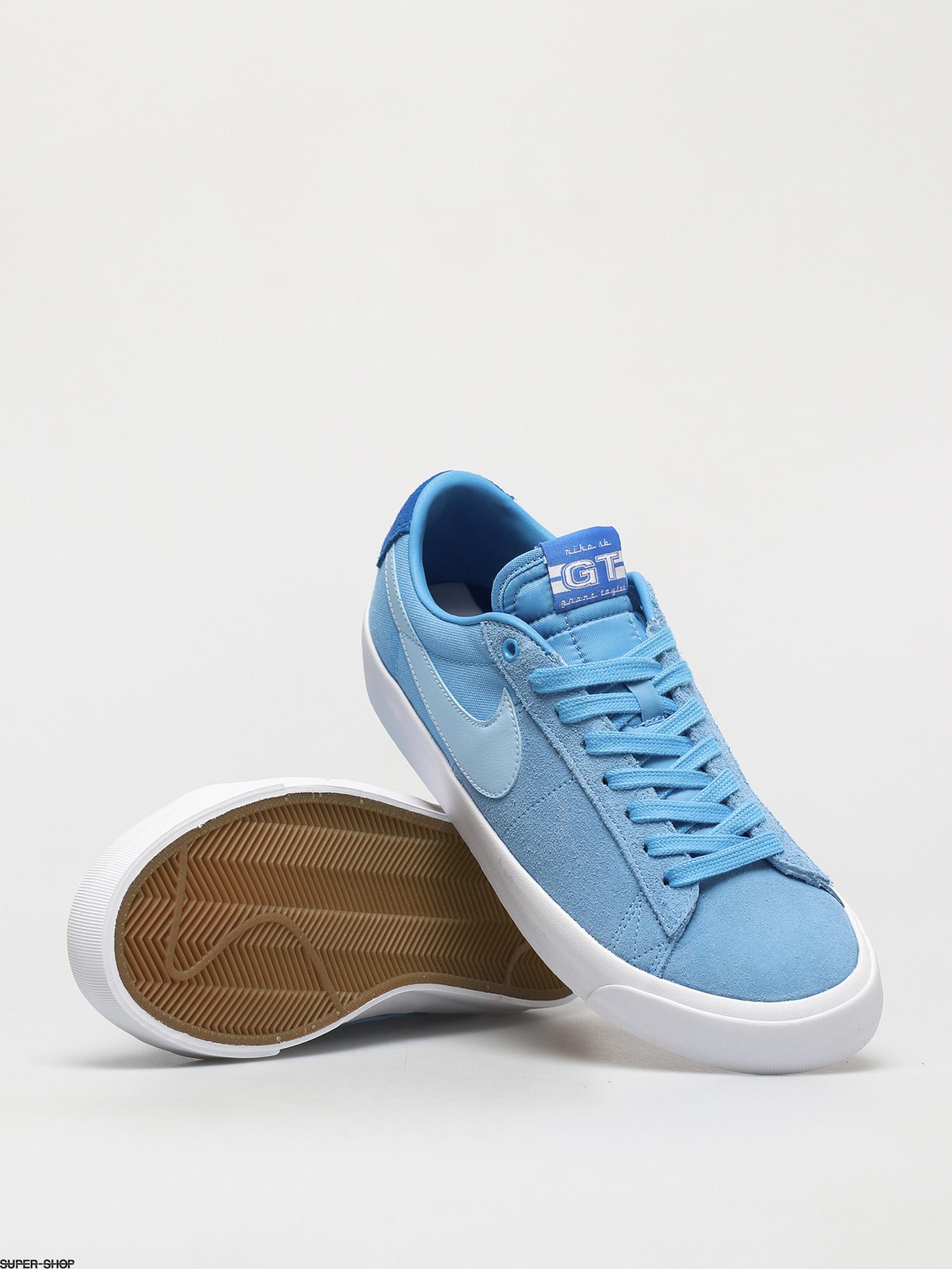 Nike SB Zoom Blazer Low Pro Gt Shoes (coast/psychic blue signal ...