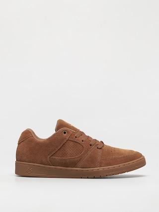 Es Shoes Accel Slim (brown/gum)