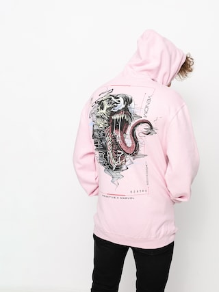 Primitive Venom HD Hoodie (pink)