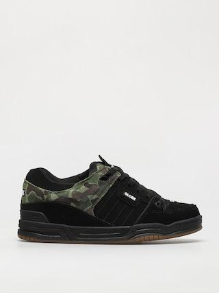 Globe Fusion Shoes (black/green camo)