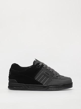 Globe Fusion Shoes (dark shadow/black split)