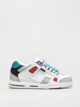Globe Sabre Shoes (white/grey/multi)