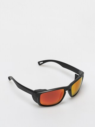 Majesty Vertex Sunglasses (black/polarized red ruby)