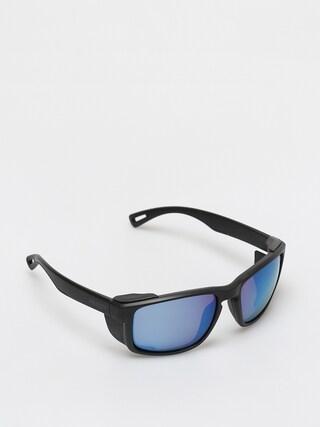 Majesty Vertex Sunglasses (black/polarized blue mirror)