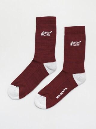 Magenta Vx Socks Socks (wine)