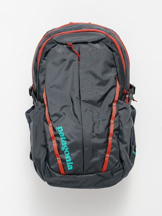 Patagonia Refugio Pack 28L Backpack (smolder blue w/roots red)