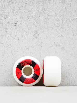 Bones Og Formula V5 Sidecut Wheels (white/black/red)