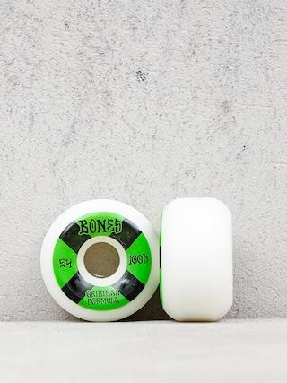 Bones Og Formula V5 Sidecut Wheels (white/black/green)
