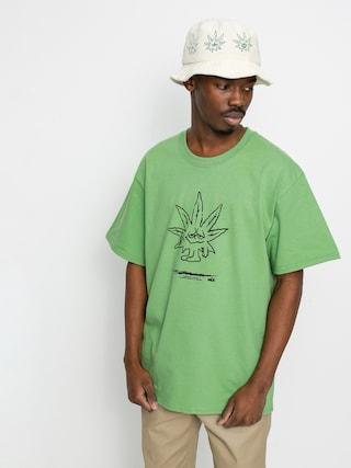 HUF X 420 Easy Green T-shirt (dill green)